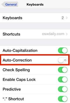 turn-on-auto-correction