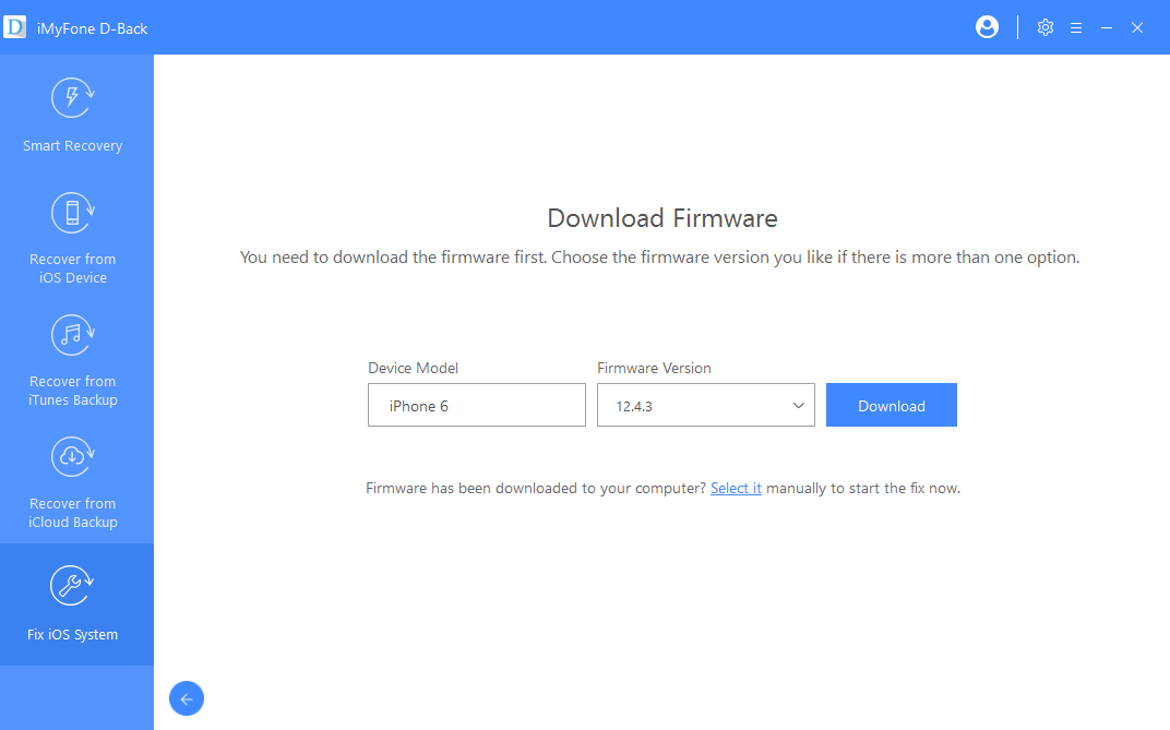 download-firmware-standard