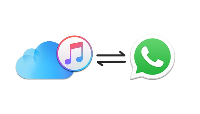 itunes and icloud will erase whatsapp backup