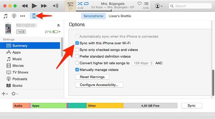 itunes-whatsapp-backup-wirelessly-1