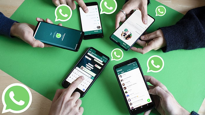 share whatsapp chat to people