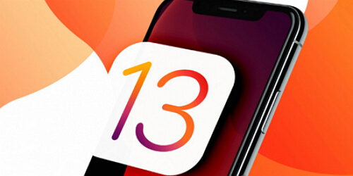ios 13 update stops halfway through
