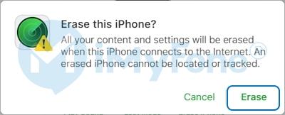 factory reset locked iPhone using iCloud