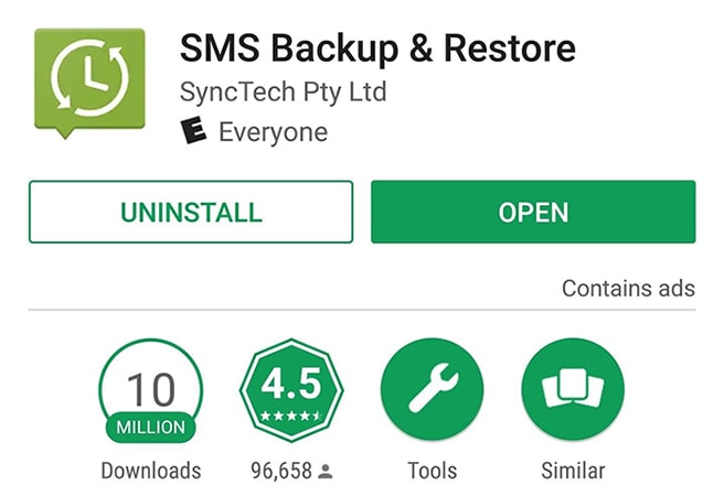 sms backup and restore app transfer text messages from android to iphone