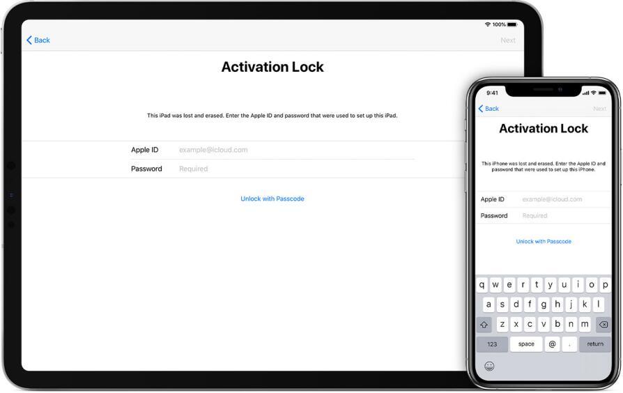 activate iphone ipad