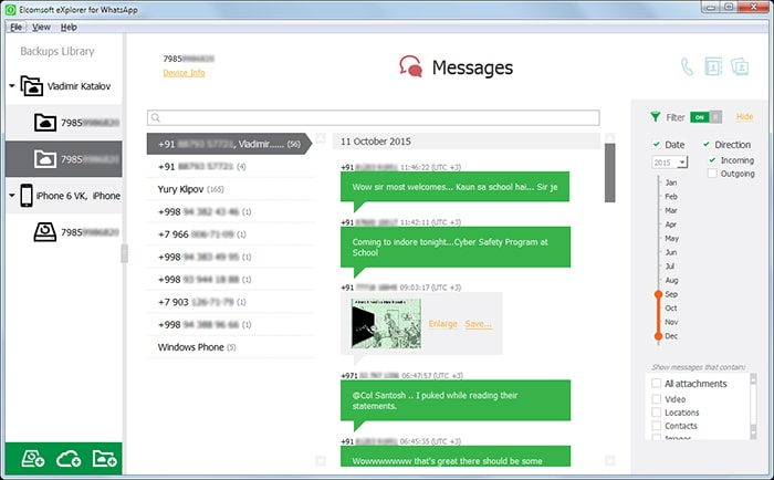 elcomsoft explorer for whatsapp preview android whatsapp chats
