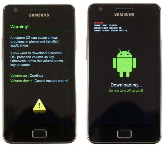 boot your phone into download mode