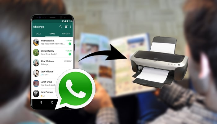 print whatsapp messages