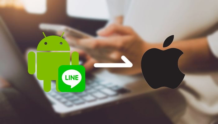 transfer line from android to iphone