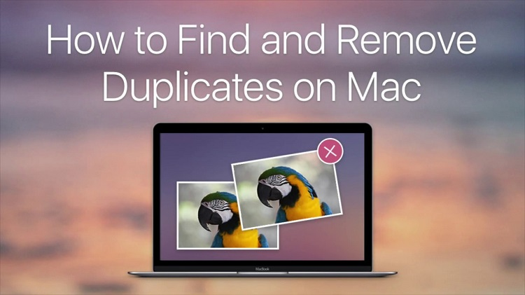 delete duplicate photos mac