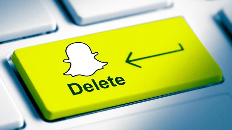delete snapchat permanently