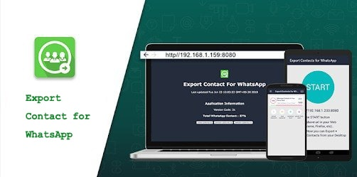 export contact for whatsapp