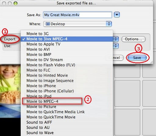 export video in imovie