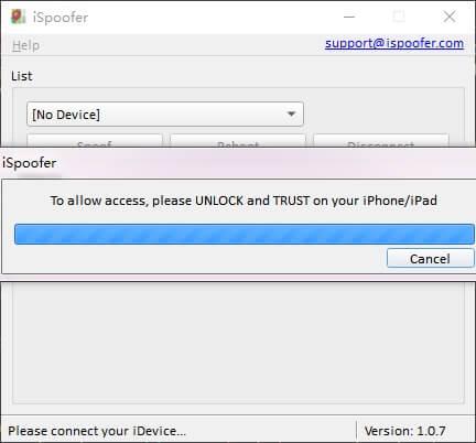 unlock device to trust computer