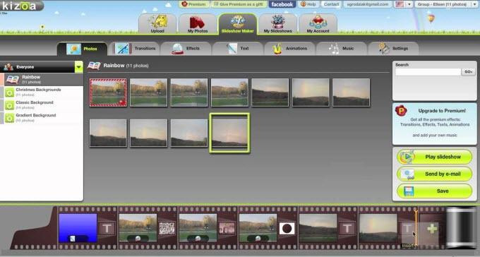 kozea slideshow online