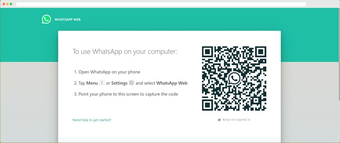 login whatsapp web on pc