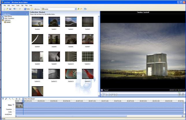 movie maker slideshow