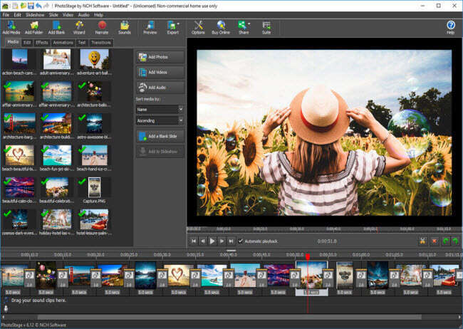 photostage slideshow maker
