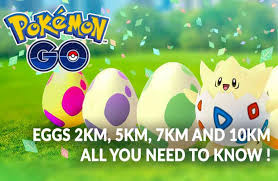 four types of Pokemon Go eggs