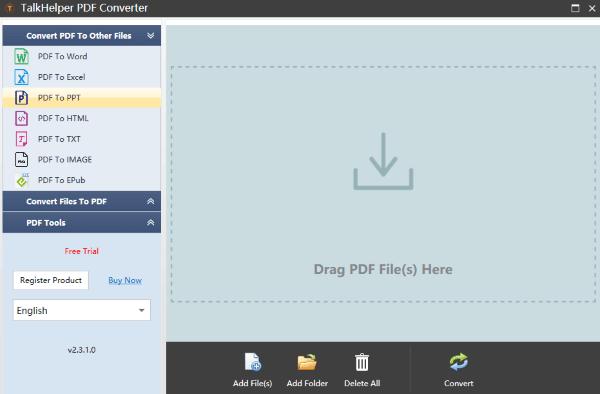 TalkHelper PDF to PPT