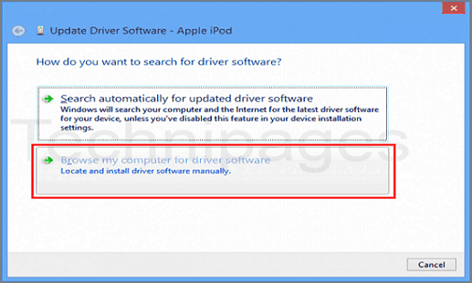 browser my cumputer for software