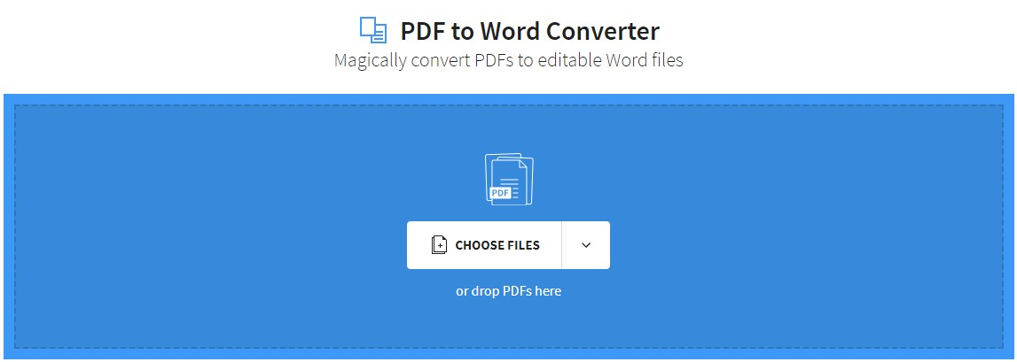convert pdf to word online