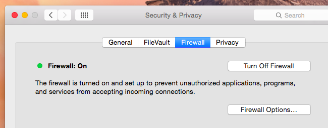 disable mac firewall