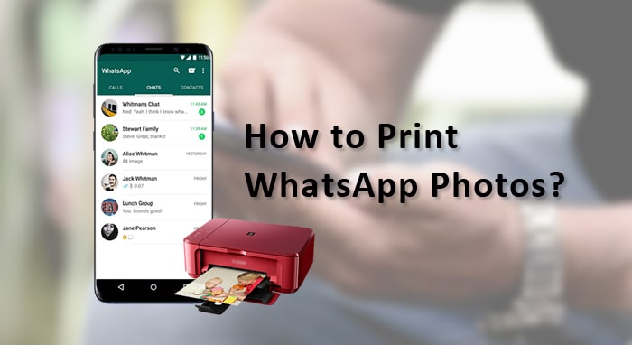 how to print whatsapp photos
