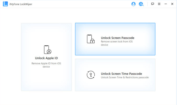 iMyFone LockWiper remove passcode 1