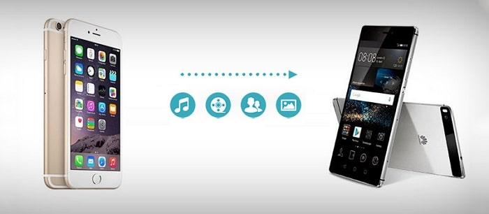 iphone to huawei transfer