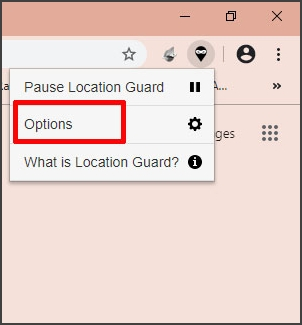 select options button