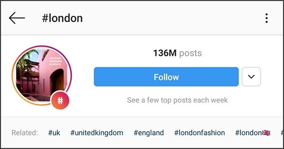 london location tag