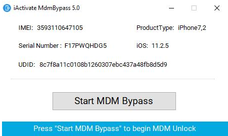 remove MDM with iActivate