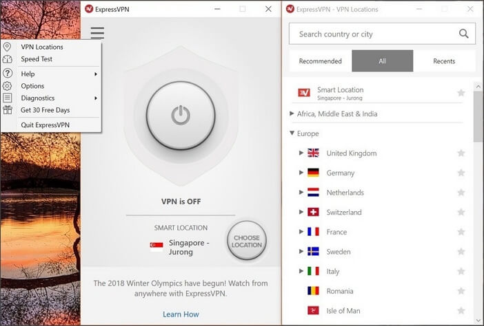 use VPN to block your site