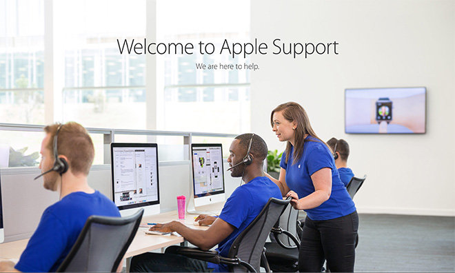 contact apple support