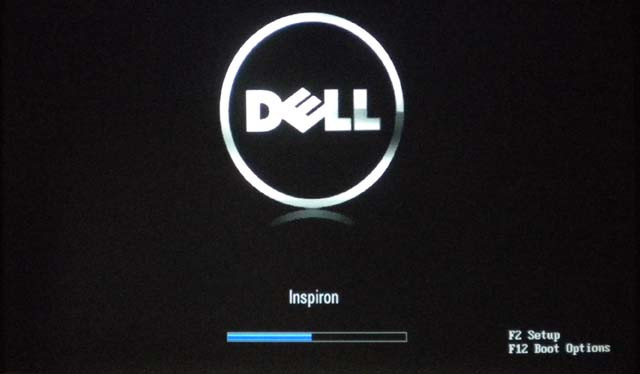 Dell boot with F12