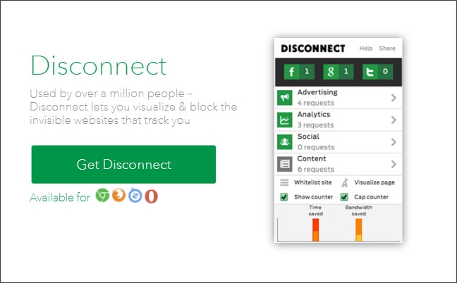 disconnect browser