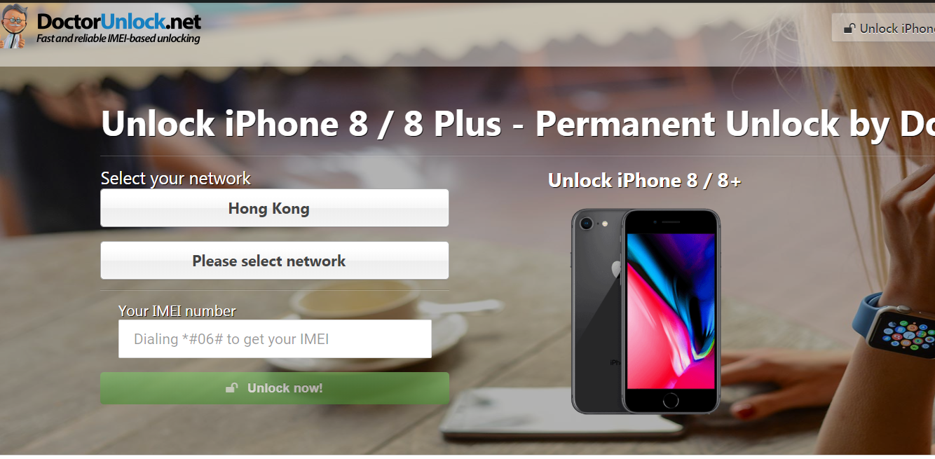 unlock iPhone at doctorunlock website