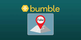 fake Bumble location