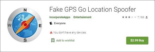 fake GPS go paid version