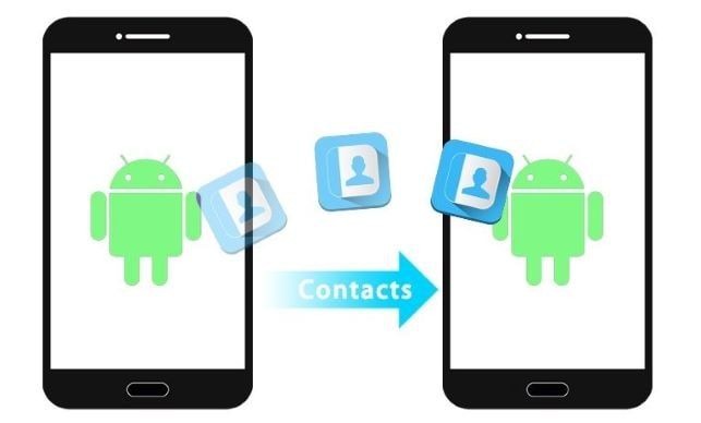 how to transfer contracts from android to android
