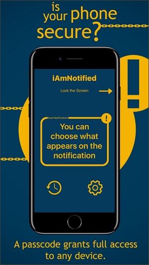 iamnotified anti tracking app