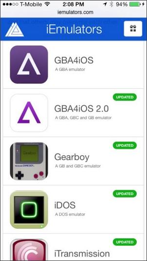 find emulator on iemulators