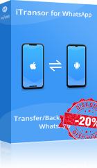 itransor for whatsapp product discount