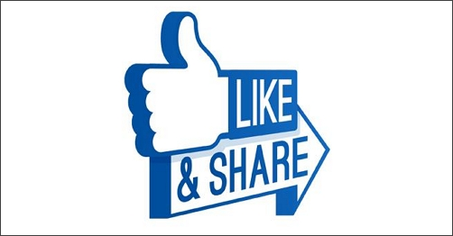 like&share button