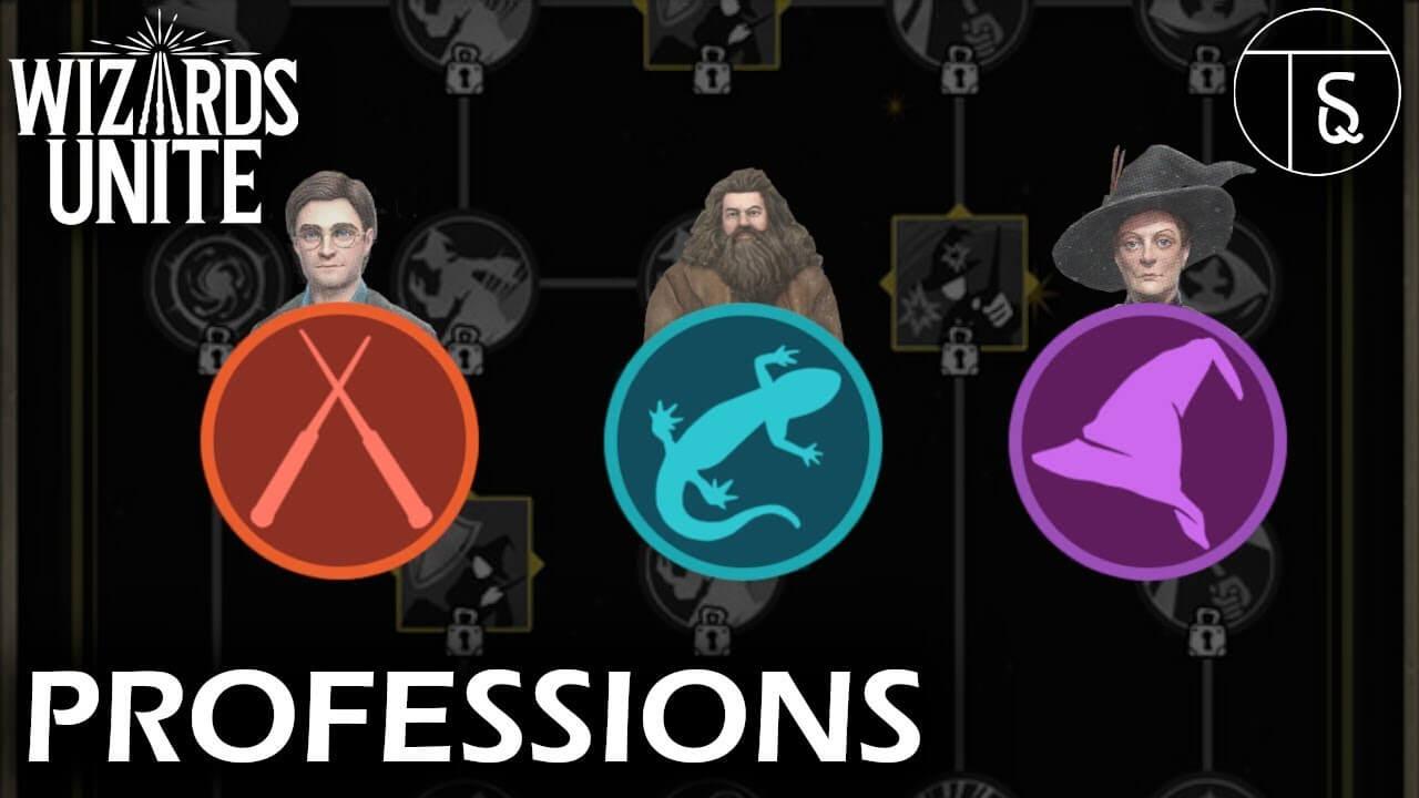 Wizards Unite professions