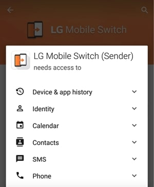permit lg mobile switch
