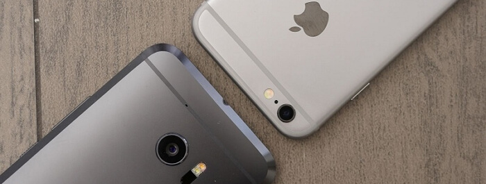 transfer from HTC to iPhone