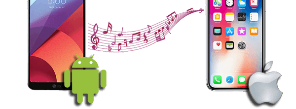 transfer music from android to iphone