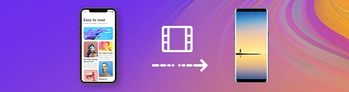 transfer videos from iphone to android